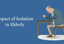 Impact of Isolation in elderly